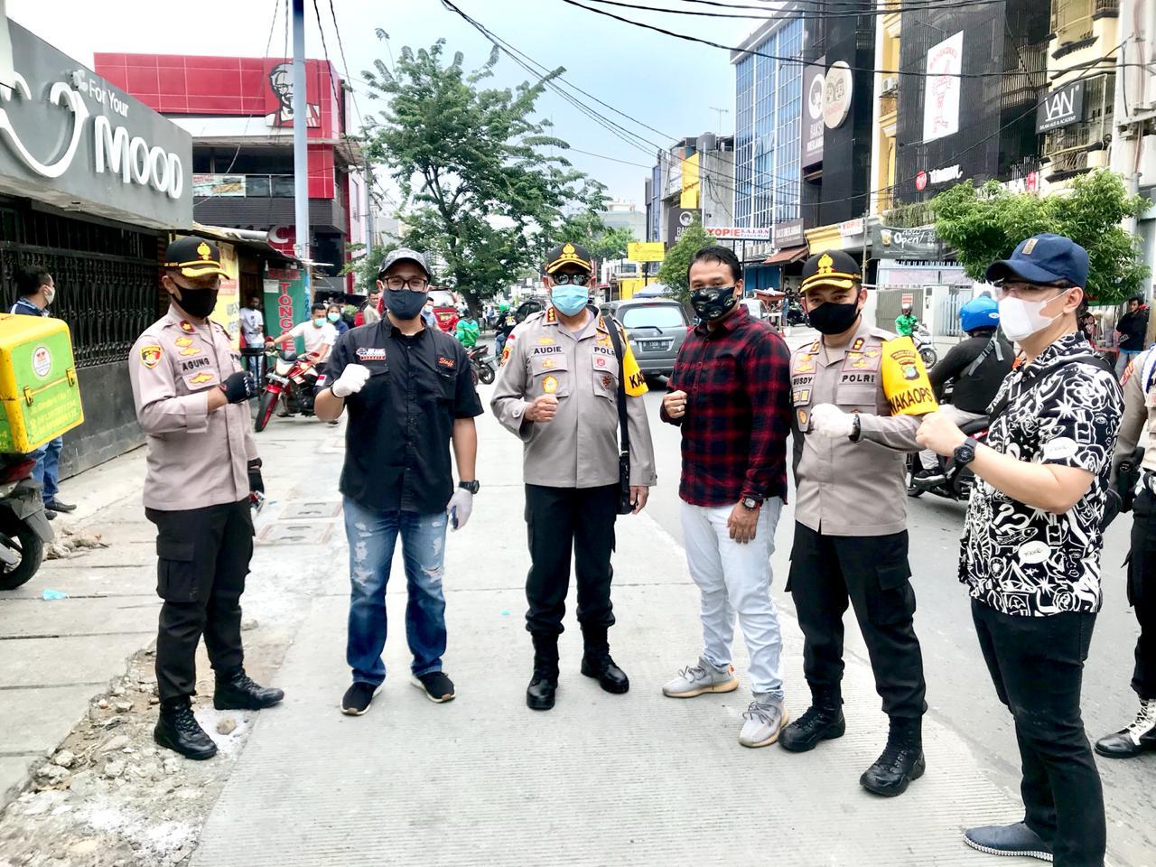 Program Empathy Building Polres Metro Jakarta Barat Didukung Artis dan Pengusaha Muda