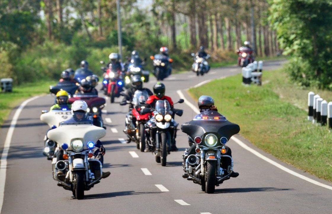 Liberty Ride, Cara FOC MC Rayakan Kebebasan