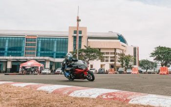 MPM Honda Ajak Puluhan Komunitas Rasakan Performa CBR250RR SP Anyar di Lintasan Balap