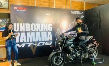 Gelar Unboxing, Bikers Bali Jadi Satu-satunya Pemilik Yamaha MT-09