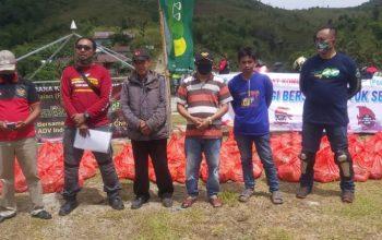 Bikers Makassar dengan Pegadaian Kompak Salurkan Bantuan untuk Daerah Terpencil