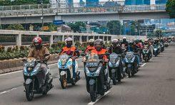 Dipadati Puluhan Bikers, Lexi Morning Ride Berlangsung Pecah!