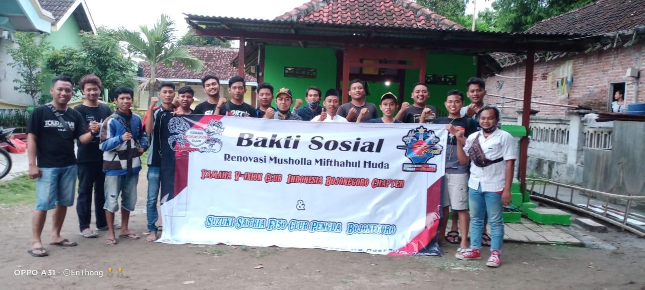 SSFC Bojonegoro & YVCI-BJ Gotong Royong  Renovasi Musholla Kampung