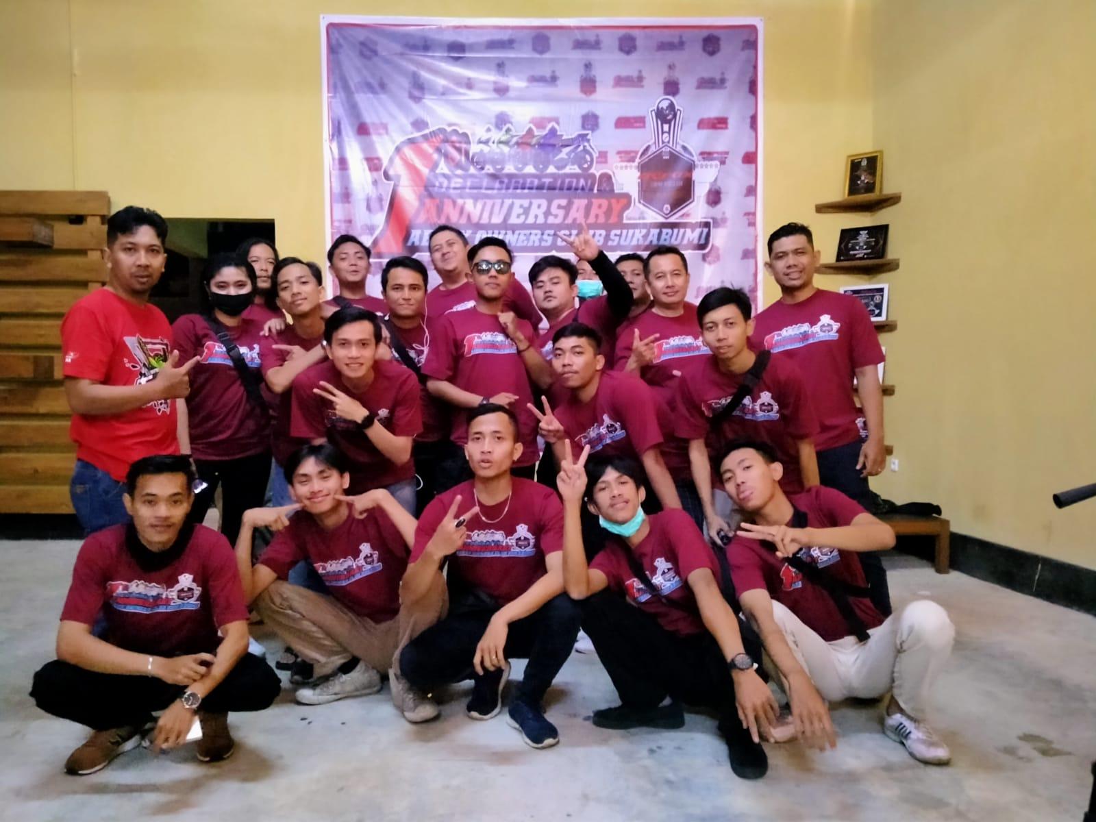 AOC Sukabumi Ulang Tahun Sekaligus Deklarasi