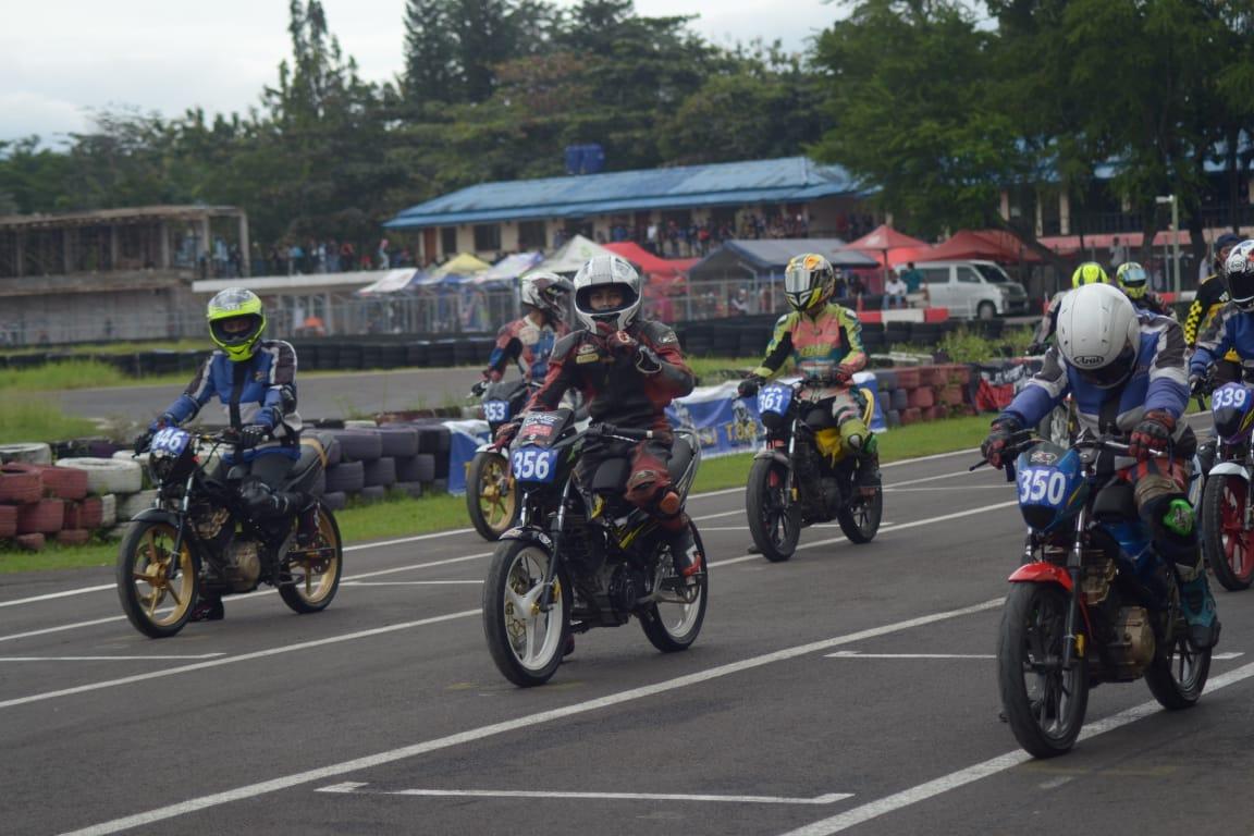 Seri 3 OMR SSFC Jadi Ajang Kebut-Kebutan Bikers Suzuki Satria