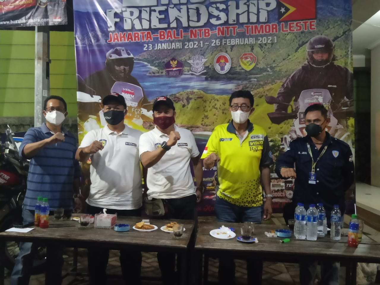 Ride for Friendship, Touring Dua Bikers VOID ke Timor Leste
