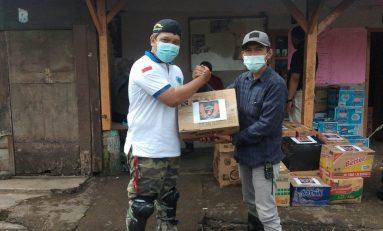 Olengers Bareng IBMI Gelar Baksos di Lokasi Bencana Cisarua