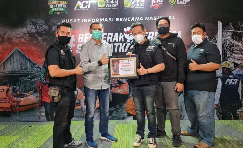 Tunda Semua Kegiatan, Komunitas Z900 Baikaa Indonesia Fokus Baksos