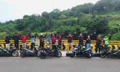 Keseruan ARCI Lombok di Touring Perdana 2021