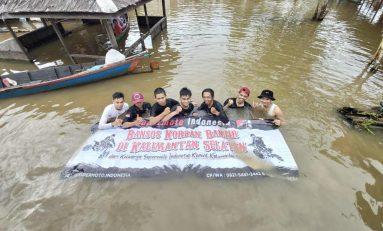SMI Banjarmasin Salurkan Bantuan Untuk Korban Bencana Banjir Kalimantan Selatan