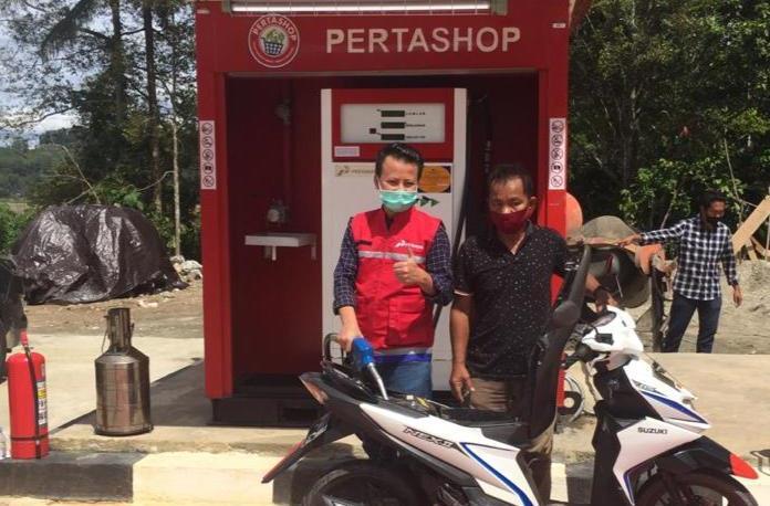 Pertashop Hadir Perdana di Sultra, Kini Harga BBM Setara dengan SPBU