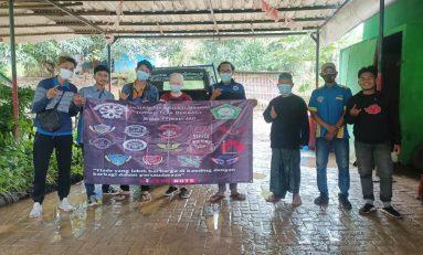 Bikers Peduli Bencana Serahkan Donasi ke Pondok Pesantren Teluk Jambe