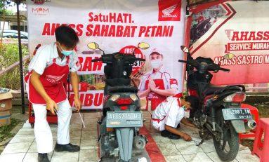 AHASS Sahabat Petani Berikan Servis Murah di 11 Kota