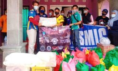 Bantu Warga Terdampak Banjir, Bikers Suzuki Gelar Baksos