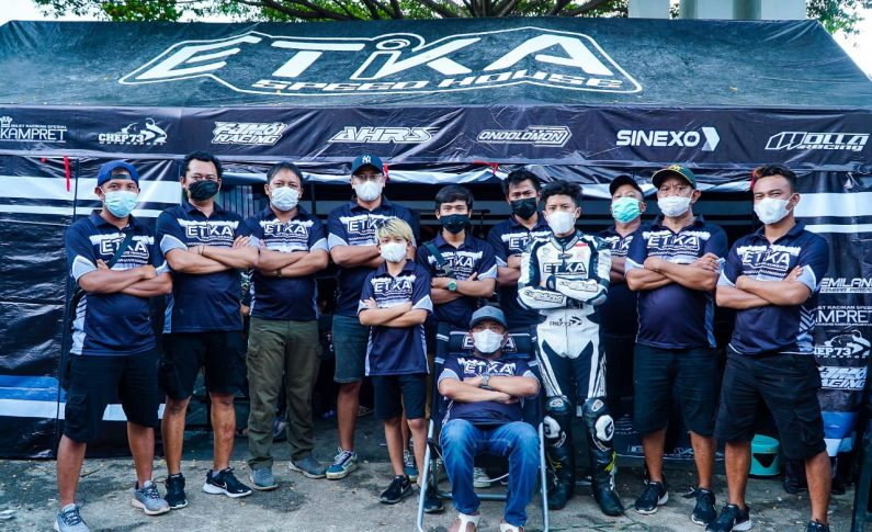 Etika Speed House (ESH) Racing Team Tampil Perdana di ICP Subang