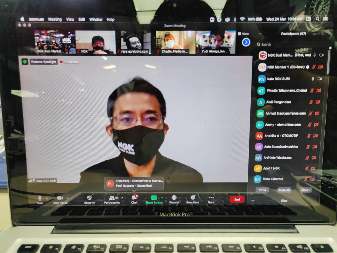 NGK Busi Indonesia Punya Presdir Baru