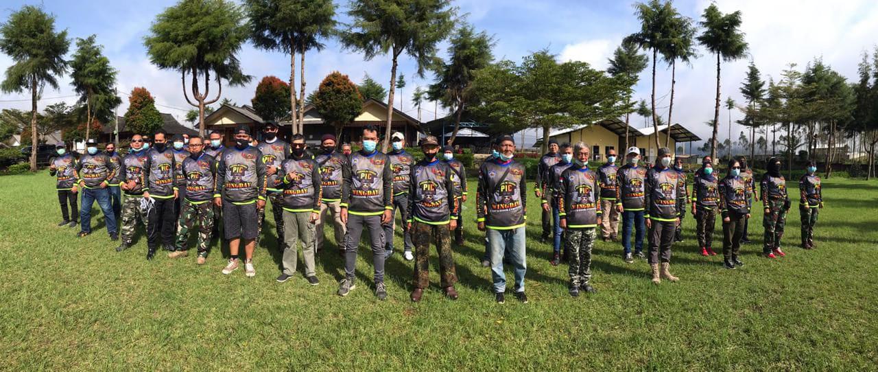 Baderhood Indonesia Sukses Selenggaraakn Wingday dengan Prokes Ketat