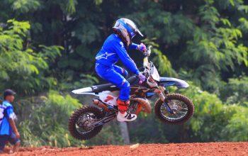 Helm JPX Jadi Andalan Crosser di BOS Junior Motocross Championship 2021