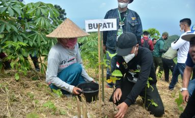 Baderhood Lombok Barat Touring Sambil Tanam 10 Ribu Pohon dan Peletakan Batu Pertama Pembangunan Tugu Persaudaraan Bikers