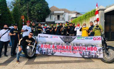 Sambut HUT RI Ke-76, Harley Davidson Depok Gelar RIDE and SHARE