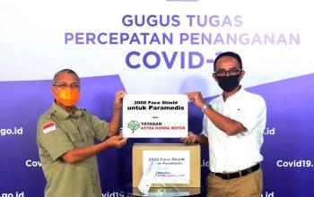 Yayasan AHM Donasi Ribuan APD untuk Tenaga Medis