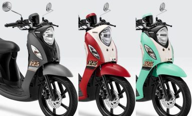 Yamaha Fino 125 Sporty Tampil dengan Warna Baru