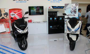 Skutik Listrik Jadi Jagoan Honda di IIMS Motobike Expo 2019