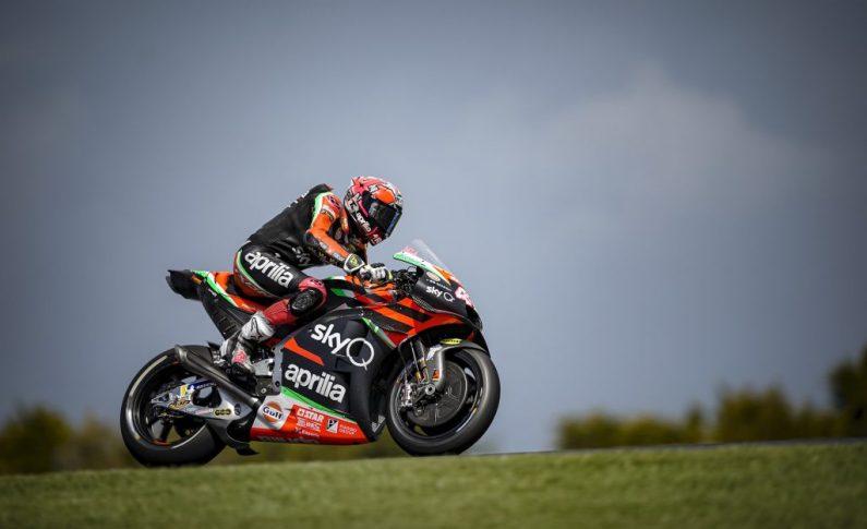 Aprilia Masih Terpuruk di Kasta Terbawah MotoGP