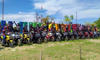 Touring Wajib ke-2 ARCI Sukabumi Telusuri Pantai Ujung Genteng