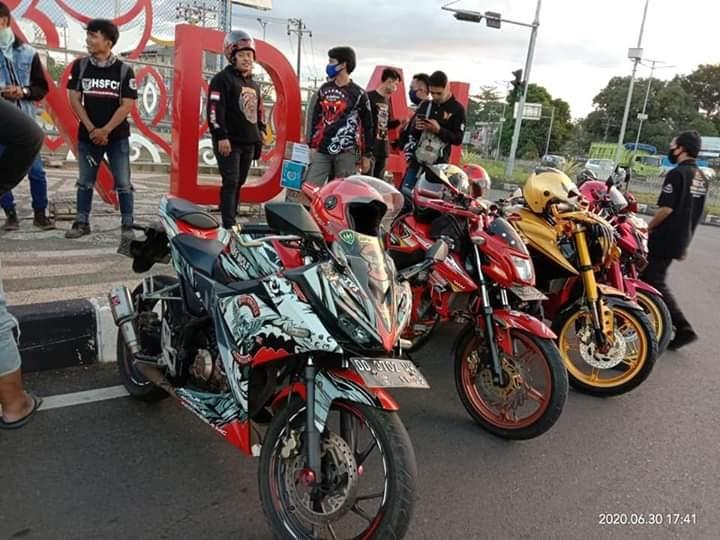 Bikers Tanggap Bencana Salurkan Bantuan Sosial dengan Touring