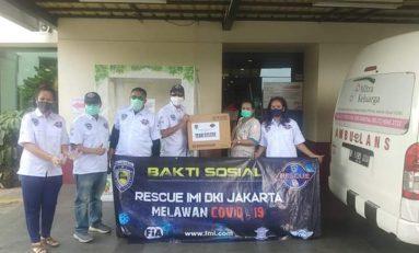 IMI DKI Jakarta Donasi 1700 APD ke 7 Rumah Sakit