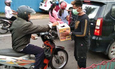 Supermoto Indonesia (SMI) Bintan Gelar Baksos Untuk Korban Banjir Tambelan