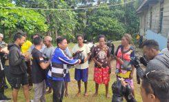 Giat Baksos SSFC Biak Papua dengan Bagi-bagi Sembako