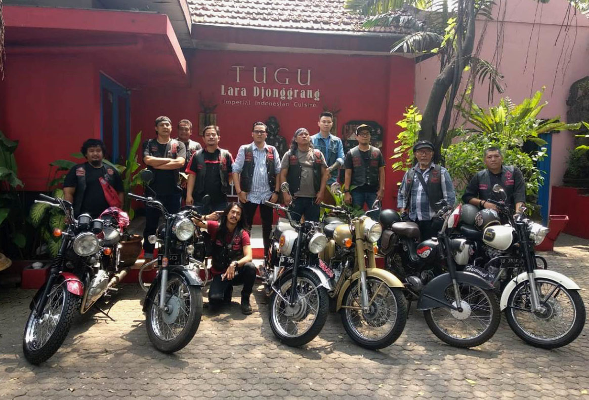 Ulang Tahun ke-31 BB1%MC Indonesia Kembalikan Jakarta ke Tempo Dulu