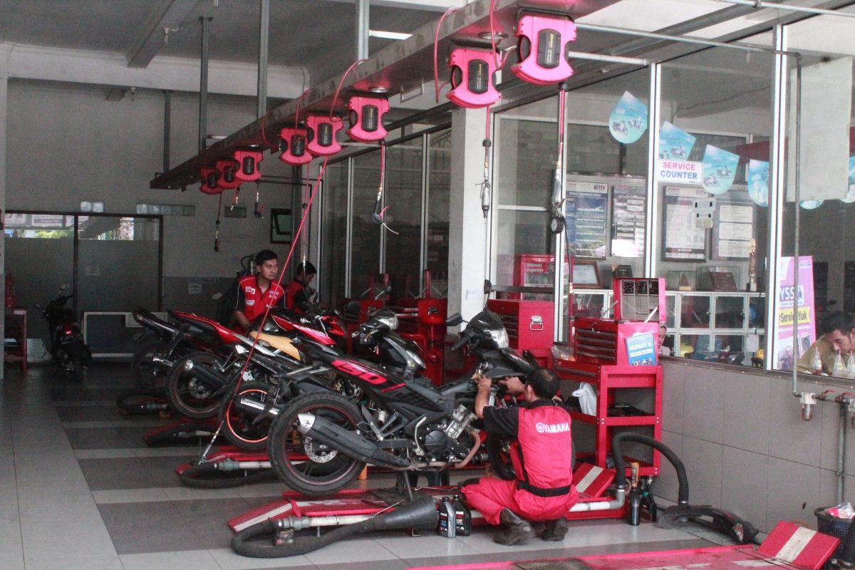 Aplikasi My Yamaha Motor Mudahkan Bikers Servis Motor, Gak