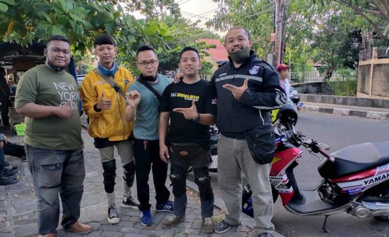 4 Bikers Yamaha Lexi Chapter Sriwijaya (YLCS) Touring Silaturahmi Keliling Pulau Jawa