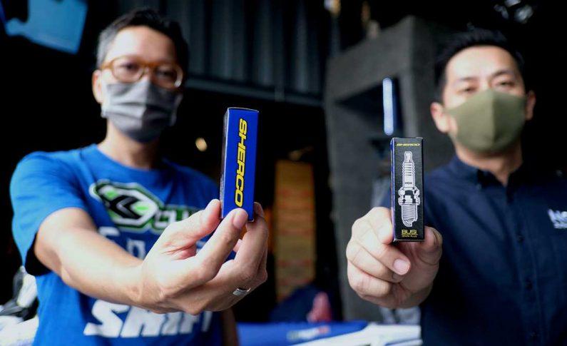 Busi NGK Jadi Part Resmi Sherco Motorcycle di Indonesia