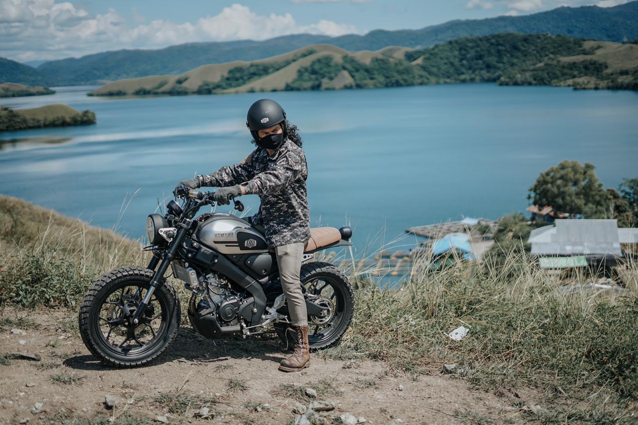 Dani Brekelle, Geber XSR 155 Sampai ke Titik Paling Timur Indonesia
