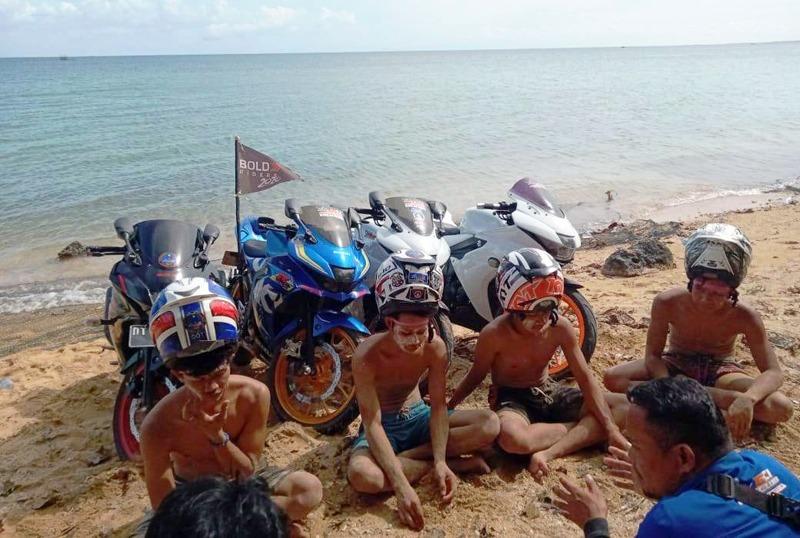 GSX Club Indonesia (GCI) Regional Sultra Gelar Diksar dan Lantik Member Baru