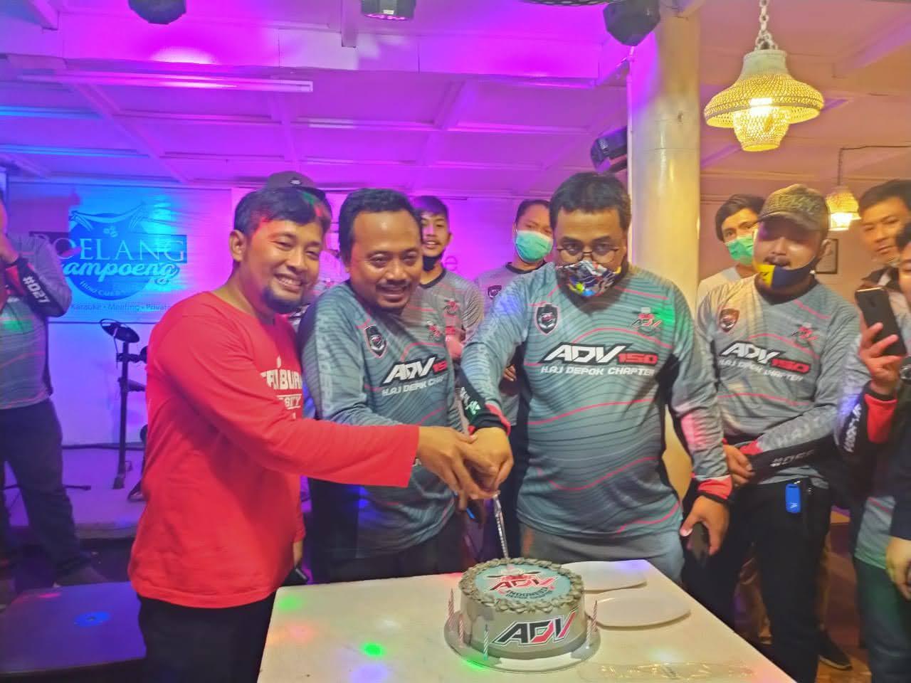 Honda ADV Indonesia (HAI) Depok Rayakan HUT ke-1, Menjadi yang Pertama di Dunia