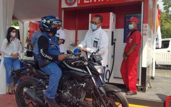 Jangkau Bikers Bekasi dan Purwasuka, Pertamina Buka Pertashop di 6 Titik