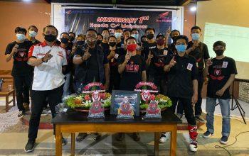 Komunitas Motor Trail Honda CRF Makassar (HCM) Genap Berusia 1 Tahun