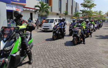 Peringati HUT ke-3, Maxi Riders Community (MRC) Gelar Konvoi ke Ketep Pass