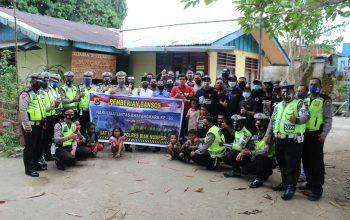 SSFC Biak Ikut Peringati Hari Lalu Lintas Bhayangkara ke-65