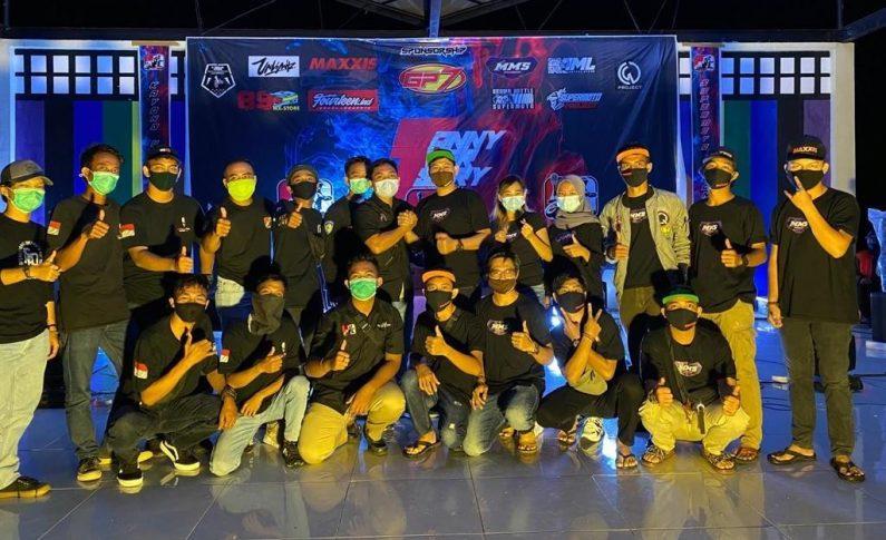 Bikers Kalimantan Kumpul Bareng di HUT ke-1 Supermoto Indonesia (SMI) Kayong Utara