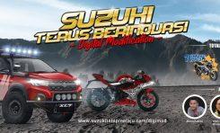 Suzuki Gelar Kontes Modifikasi Digital Berhadiah Motor