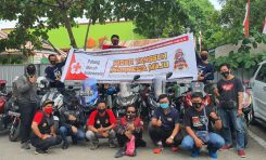 Tambah Stok Darah PMI, Honda ADV Indonesia (HAI) Makassar Gelar Donor Darah