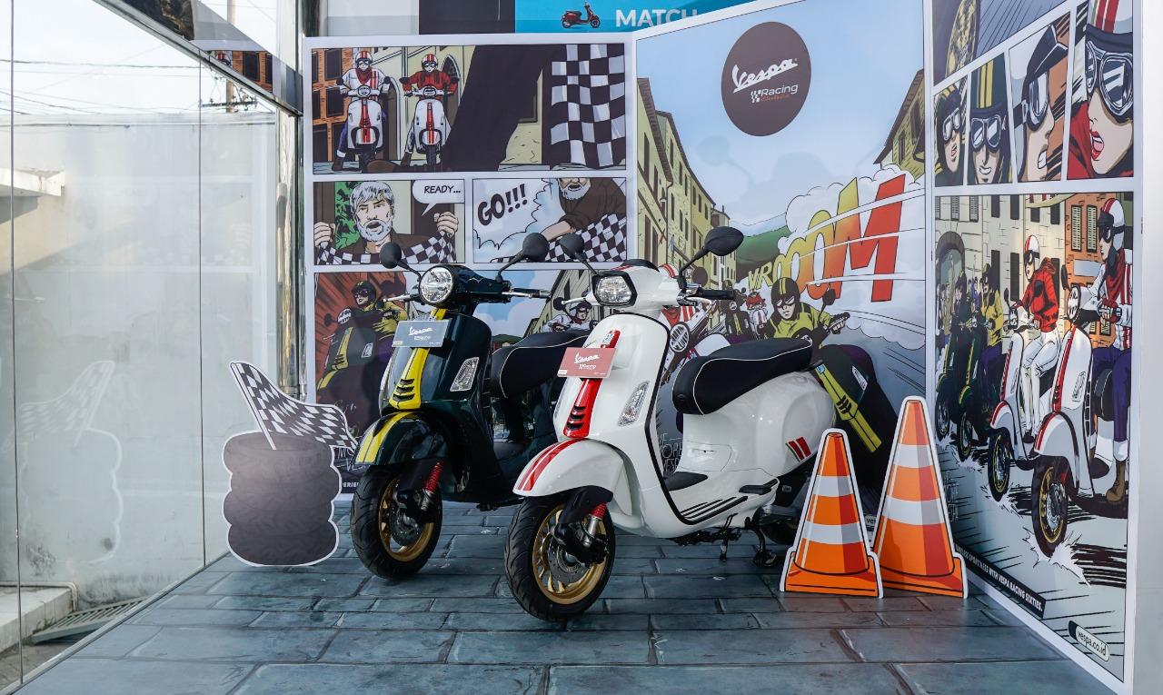 Vespa Racing Sixties Tempati Zona Khusus di Dealer