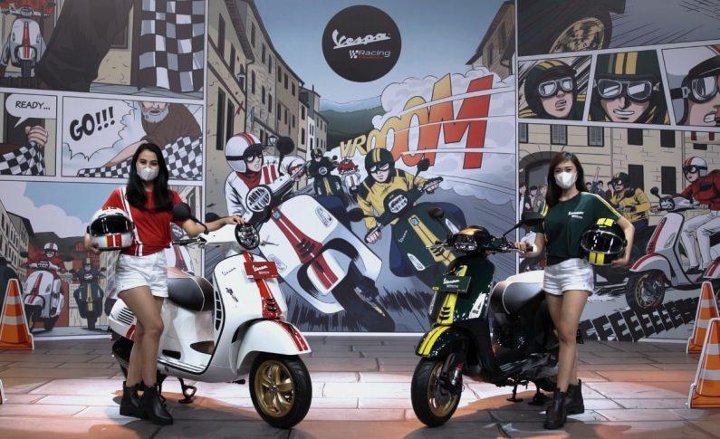 Piaggio Indonesia Luncurkan Vespa Racing Sixties Limited Edition