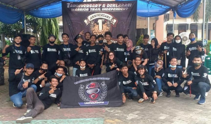 Warrior Trail Independent (WTI) Tangerang Resmi Deklarasi